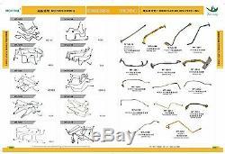 114400-4441 114400-4440 Turbocharger FITS HITACHI ZAX470 Zx470 ZAX870 6WG1X