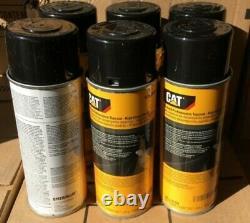 12 PACK CATERPILLAR CAT OEM BLACK Aerosol Spray Paint Cans 458-9586 NEW 1 Case