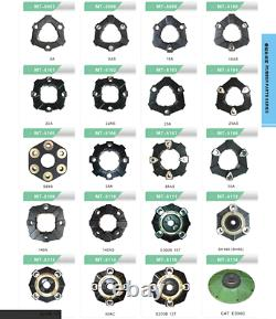 140AS Rubber Coupling fits for EXCAVATOR PUMP GEAR BOX