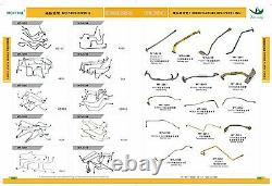 17201-e0441 Trubocharger Fits Kobelco, New Holland E215bl Sk250-8 Sk210-8 J05e