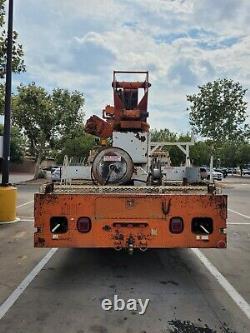 1997 Digger Derrick crane, 127K for miles, Terex 4045 Lifts 20,600 lbs, 45' boom