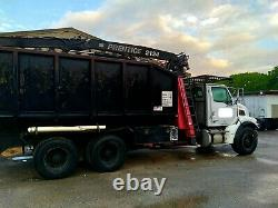 2007 sterling truck grapple truck heavy equipment knuckle boom l7500 cat c7