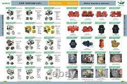 2027277 Rotor, Block Cylinder Fits Hitachi Ex200-2ex200-3 Ex220-2 Ex220-3 Hpvo91