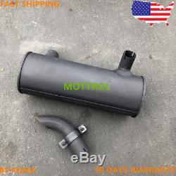 212-8507 2128507 Muffler As Cat E311d E311c E312c E312d E314d E314d C4.2 3064