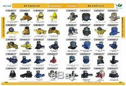 24100-1870b Rhc7 Turbocharger Fits Hitachi Ex220 Ex270 Hino H06ct Engine, New