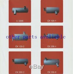 272-4674 2724674 Muffler With U Bolt 2pk Cat E320 E320l E320b Engine S6kt 3066