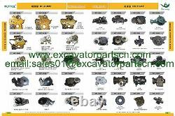 3TNV88 4TNV88 Water Pump withpipes 18849 FITS Mustang Skid Steer 2022 2026 2032