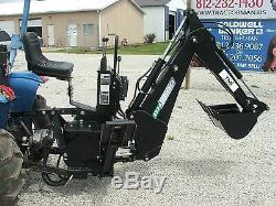 3 point Backhoe 7600, 8-foot excavator with free PTO PUMP & shipping