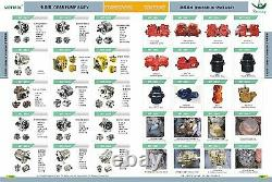 4181700 Gear Pump Fits Hitachi Ex200-1 Ex400-1 Ex220-1 Ex330-5 Ex300-2 Ex300-3