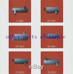 4341001 Muffler With 2 U Bolt Fits Hitachi Ex100-5 Ex100 Mark 5, 4bg1 Engine