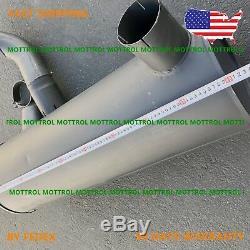 4402995 Muffler Fits For Hitachi Ex400-3 Ex400-5 Ex450h-5 6rb1 4397064 Mottrol