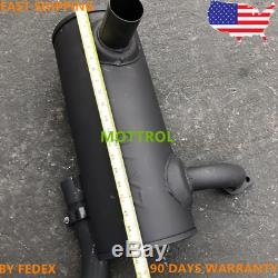 4448024 Muffler As Fits I Zax70 Zax80 4jb1 Zaxis70 Zx70 Zx80 By Express Fedex