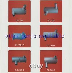4649870 Muffler Fits Hitachi Excavator Ex120-2 Ex120-3 Ex120-1 Ex150-1 4bd1 4bg1