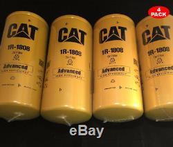 4 Pack NEW CAT 1R-1808 FILTER AS / CATERPILLAR OEM 1R1808