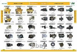 4bd1 4bg1 Exhaust Manifold Fits Hitachi Ex100-2/3 Ex120-2 Ex120-3 8-94366021-0