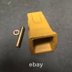 5 PCS 1U3452 9w8452 J450 Tiger Bucket Tooth, 8E0468 pin, 8E8469 sleeved RETAINER