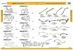6137-82-8200 465044-0261 Tob59 Turbocharger Fits Komatsu Pc200lc-3 Pc220-3 6d105