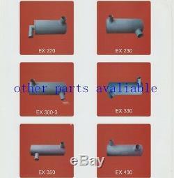 6156-11-5281 Muffler Fits For Komatsu Pc400-7 Pc450-7 Pc460-7 Saa6d125e-3knew