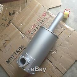 6204-11-5253 muffler fits for KOMATSU EXCVAVATOR pc60-5 pc80-3 4d95l-1, MOTTROL