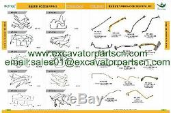 6205-11-5330 6207-11-5310 Muffler For Komatsu Pc130-5 Pc120-5 Pc150-5 4d95