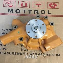 6206-61-1502 Water Pump Fits Komatsu 6d95l, S6d95l 6 Hoses D31p-18 Fd35-45/-4,-5
