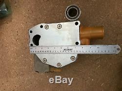 6206-61-1505 WATER PUMP fits KOMATSU D31P-18A D31E-18 D37P-5A, S 6D95L 6 HOSES