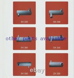 6222-13-5610 Pipe Exhaust Muffler Tube Komatsu Pc300-6 Pc350-6 Pc360-6 6d108