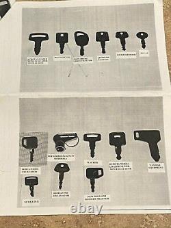 (82) Keys Ultimate Heavy Construction Equipment Key Set