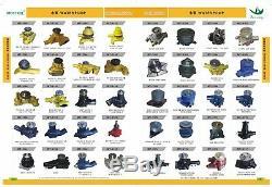 8n7001 Nozzle Assy 0r-3418 8n-7005 0r-1740 5y7005 Fit Caterpillar 3304 3306 6 Pc