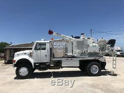 AWD Rock hole digger truck Altec ct-7 auger pressure drill Diesel ct7 c-t7 4x4