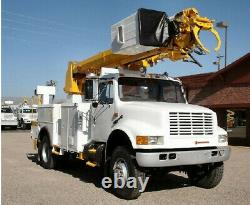 Bucket with Gravity Leveling Brake & Mount for Lifts Boom Cranes Digger Derricks