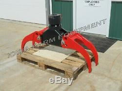 Bypass Log Grapple withRigid Rotator ICM 53 Universal Log, Stone & Scrap Grapple