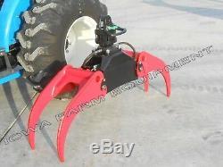 Bypass Log Grapple withRotator & Hanger IFE 55 Universal Log, Scrap, Stone Grapple