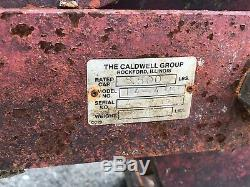 Caldwell Concrete Jersey Barrier Highway Grab Dual Grapple Lift Grabber 8.5 Ton