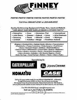 Caterpillar Cat TH62 TH63 TH82 TH83 TH215 TH210 Telehandler water pump 2396142