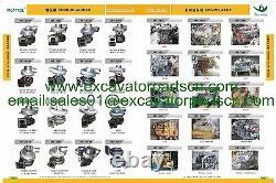 Dh60-7 Muffler As Fits For Doosan, Daewoo Excavaotr 4tnv94
