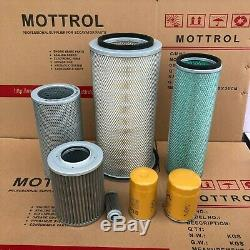 Fits For Komatsu Pc200-3 6d105 Engine Filter (air, Fuel, Oil, Hydraulic)service