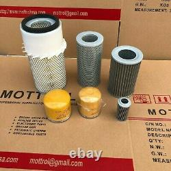 Fits For Komatsu Pc75-1 Pc75-2 Engine Filter (air, Fuel, Oil, Hydraulic)service