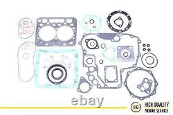 Full Gasket Set With Cylinder Head Gasket For Kubota 1J090-03310, Z482