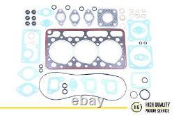 Full Gasket Set with Cylinder Head Gasket For Kubota 15576-03310, D950, 3D75