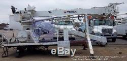 Hydraulic Boom Lift Digger Derrick Crane Terex C4045 TR for Utility Truck