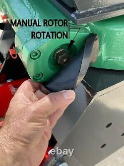 IFE 5T62, 62 5 Tine Bypass Scrap, Stone, Log Grapple &Rigid Slewing Ring Rotator