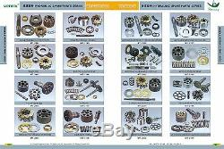 Kp1009clfss Hydraulic Gear Pump Assy Fits Kobelco Sk200 Sh120 Sk120-3 Sk120-5