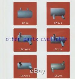 Muffler 6156-11-5280 for Komatsu PC400-7 PC400LC-7 PC450LC-7 6D125E Engine