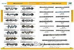 Muffler As Fits Hitachi Ex200-3 Ex200-2 Ex200lc-2 6bd1 Engine 4256163new