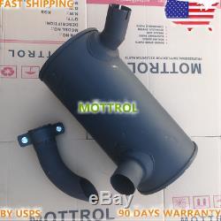 Muffler Silencer YX12P00006P3 for Kobelco SK135RLC SK135SR SK135SR-1E ED150