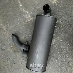 Muffler With U Bolt, Clamp Fits Hitachi Ex200-2 Ex200lc-2 Ex200-3 Engine 6bd1