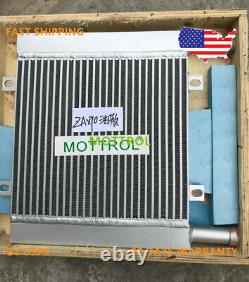 Oil Cooler 4464826 for Hitachi ZX70 ZAX70 ZX75 ZAX80 ZAX85 by fedex express, new