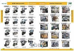 S100-008H Turbocharger Fit DEUTZ BF4M2012C 04255272,04250454,04254130 04258199KZ