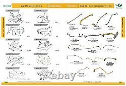 S6kt S6k Exhaust Manifold Fits Caterpillar Cat Excvavator E200b El200b, 320 320l